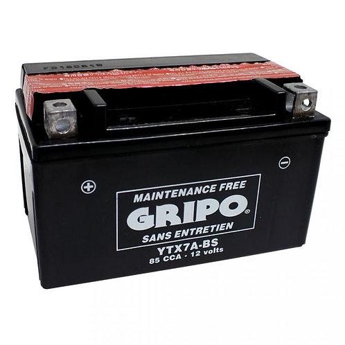 Batterie MF (sans entretien) YTX7A-BS GRIPO