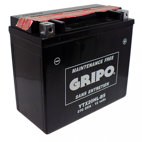 Batterie MF (sans entretien) YTX20HL-BS GRIPO