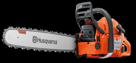 Scie à chaîne Husqvarna 372 XPG (Poignées chauffantes)