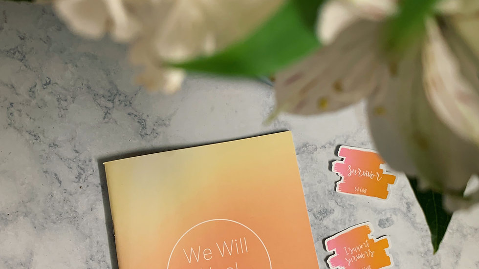 We Will Heal Book- Physical Copy