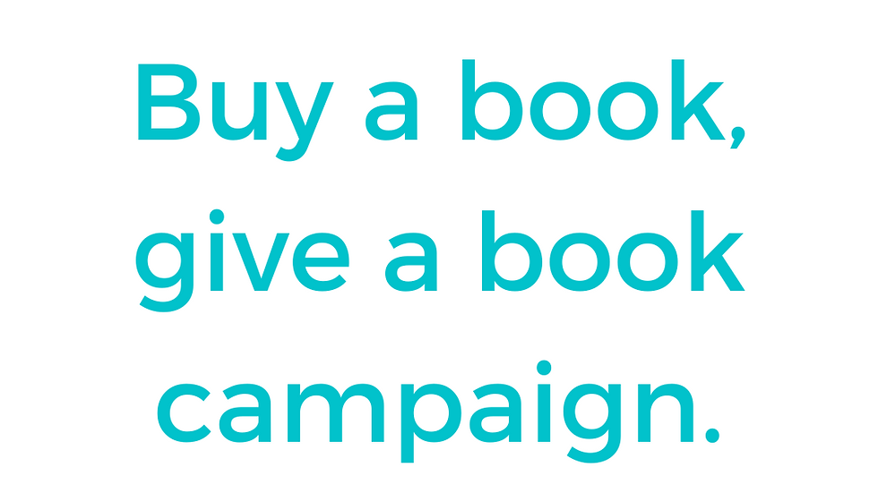 Buy A Book Give a Book Campaign- Do You Want a Cookie?