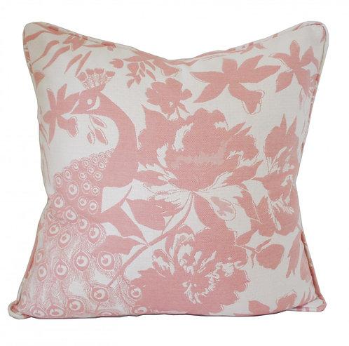 Peacock - Cushion Cover