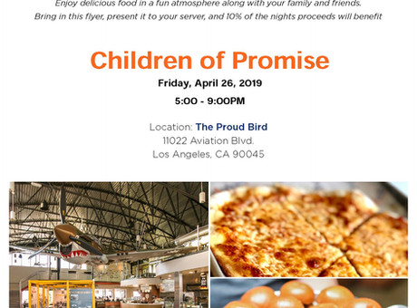 Join Us For A Delicious Fundraising Event!