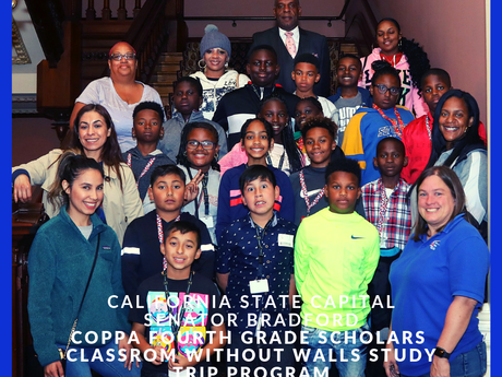 Fourth-Grade Scholars Meet And Chat With Senator Bradford On Capitol Hill