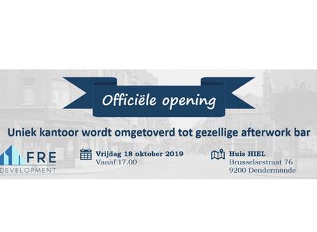 Officiële Opening 2de Kantoor!