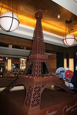 Thorntons Eiffel Tower Acrylic Laser Cut Modelmaker
