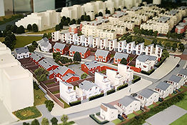 Architectural Model Barratt Homes modelmaker