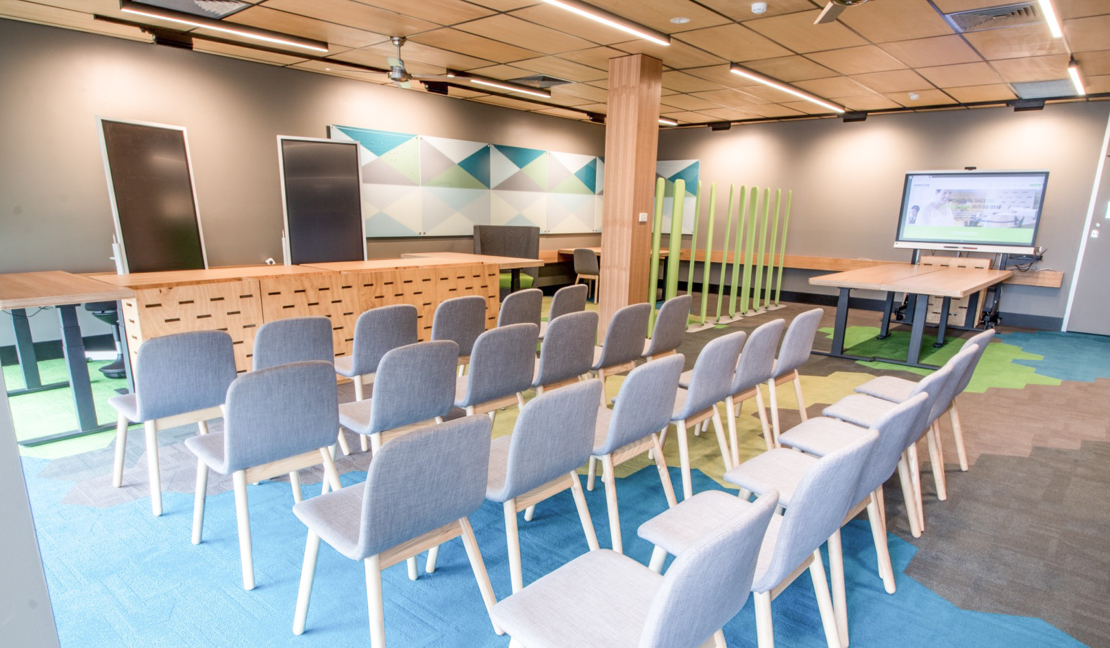 Collaboration space fit out