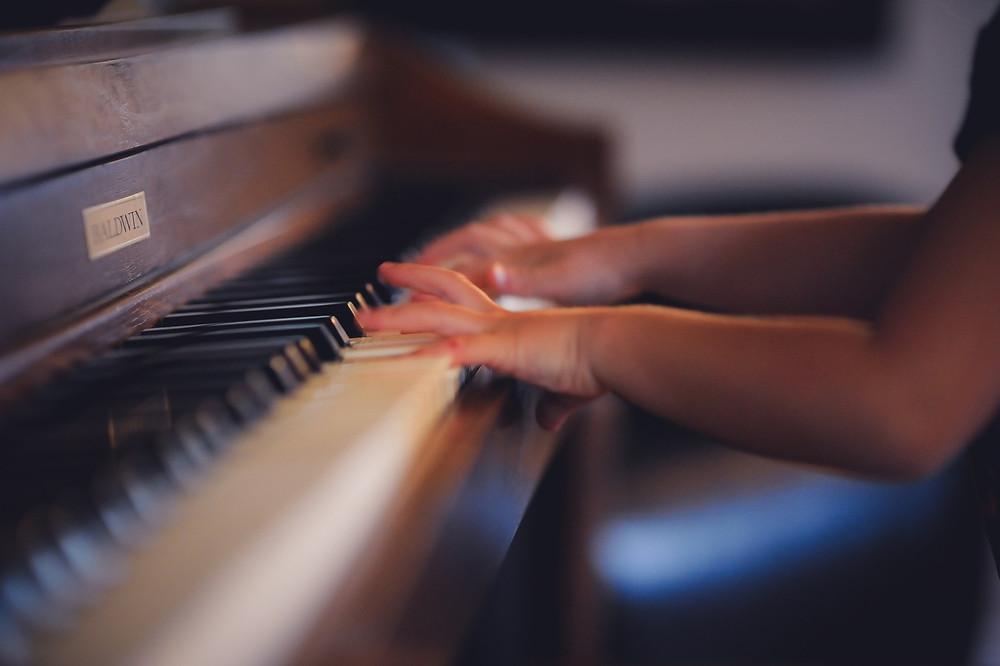 aula particular de piano e teclado