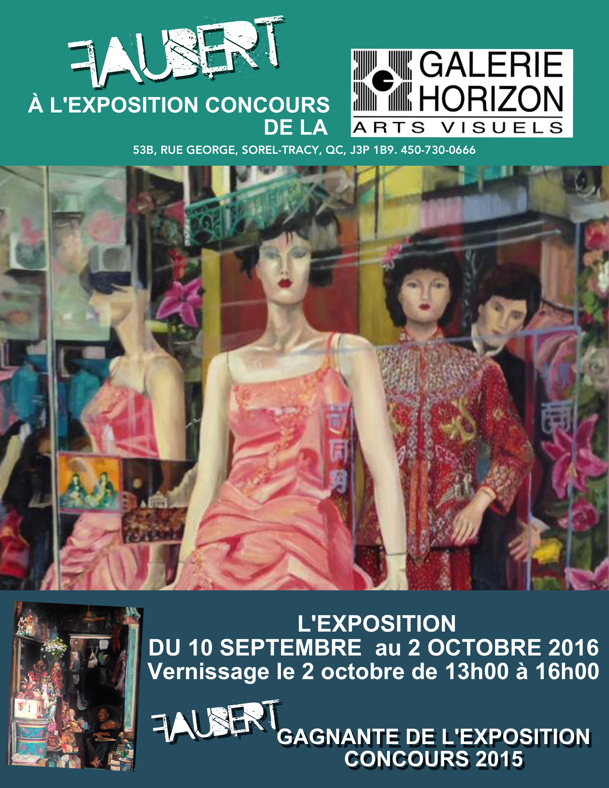 affiche expo concours