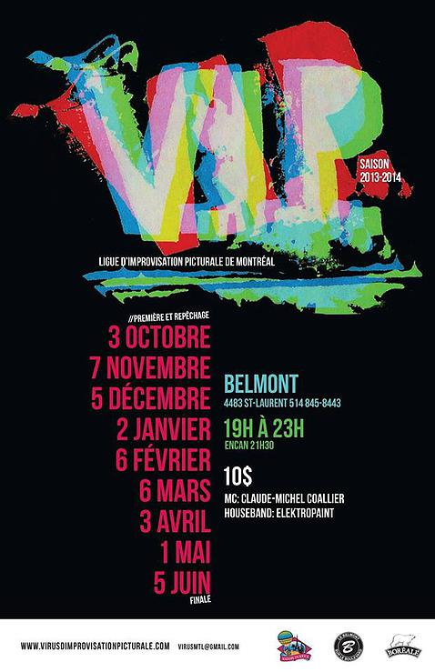 VIP Virus d'Improvisation Pictural