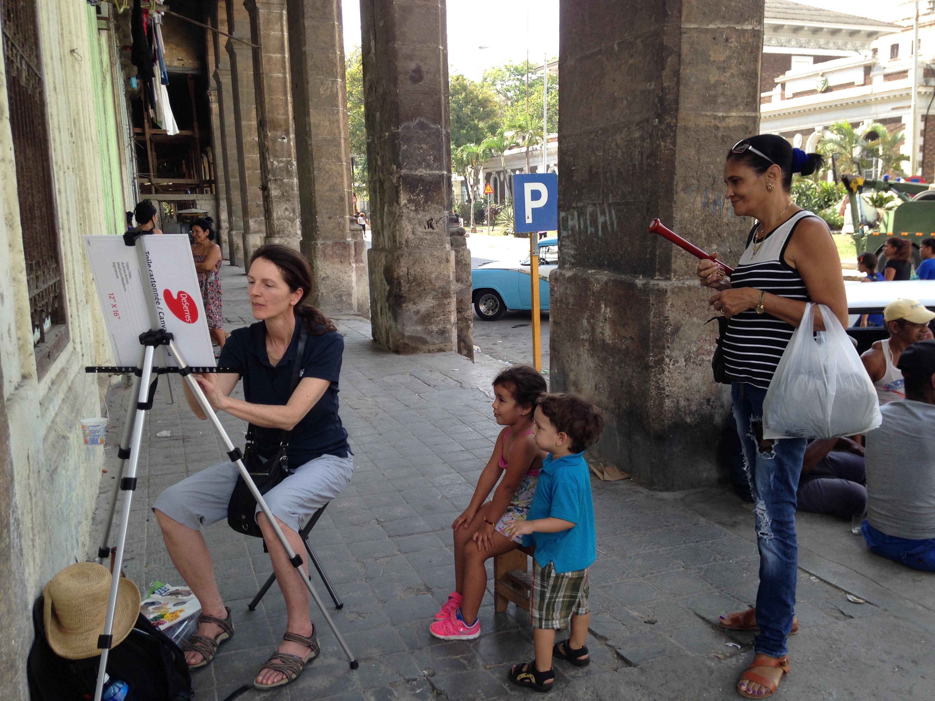Cours à Cuba