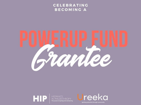 Woohoo! We are proud to be PowerUp Grantees.