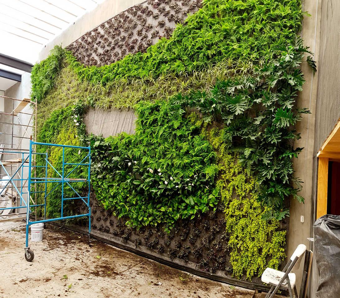Instalación Jardín Vertical