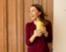 smoothie saludable piña pepino limon y chía