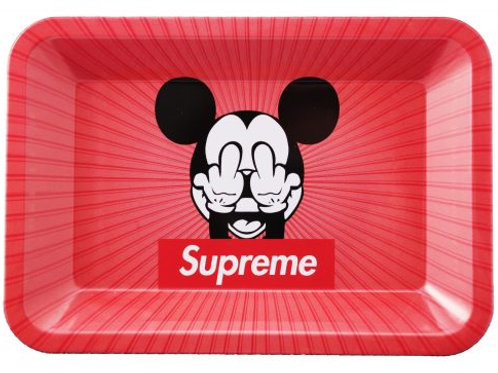 Metal Rolling Tray MICKEY FINGERS 18 x 12.5cm