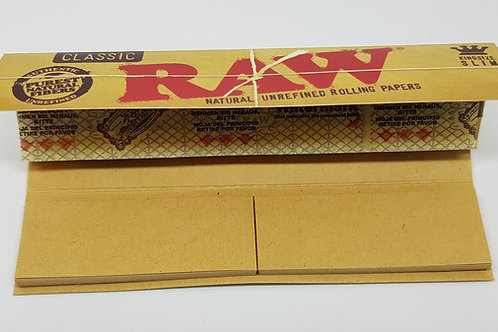Raw classic king size connoisseur + tips