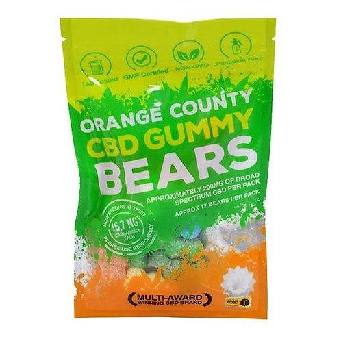 Orange County CBD Gummy Bears