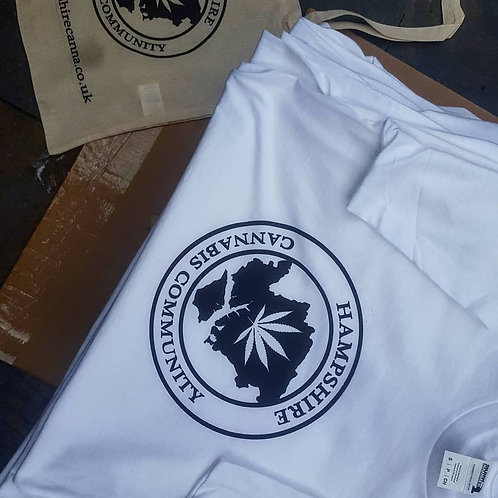 White Hampshirecanna T-Shirt