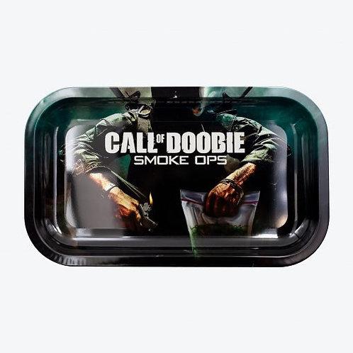 VS Call of Doobie Metal Rolling Tray