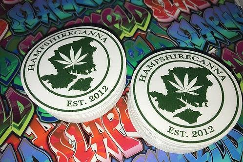 Hampshirecanna stickers