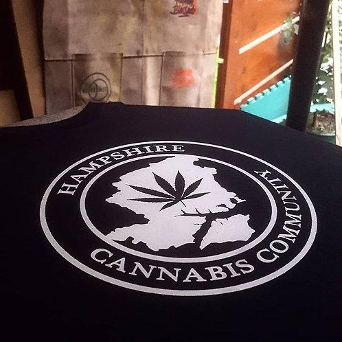 Black Hampshirecanna T-Shirt