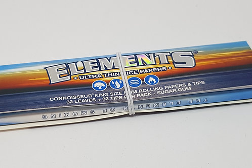 Elements kingsize slim + tips