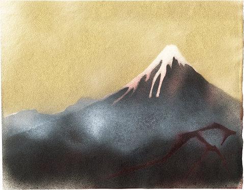Sign A / Black Fuji