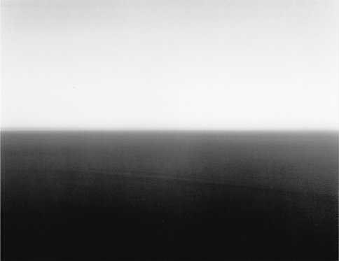 杉本博司 / Time Exposed MEDITERRANEAN SEA CASSIS 1989