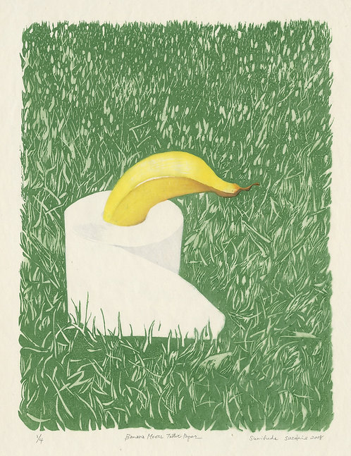 SUMIFUDE / Banana Meets Toiletpaper