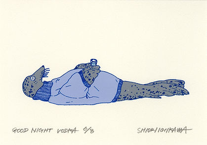 IS028 15 Good Night Vodka (Blue) 2020 ed