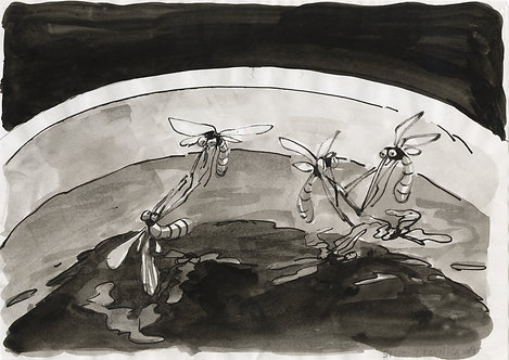 市川 詩織 / ロマンチックな繁殖場を提供された蚊