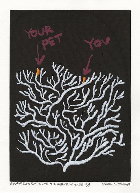 市川 詩織 / 進化の木の中のあなたとペット
