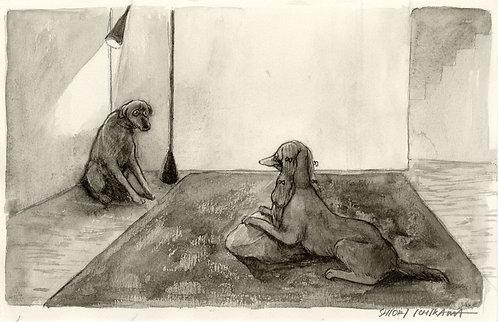 市川 詩織 / 鑑賞用に雑種犬を飼う金持ちの犬