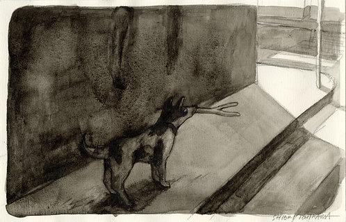 市川 詩織 / 月明かりで本能が爆発する犬(10秒前)