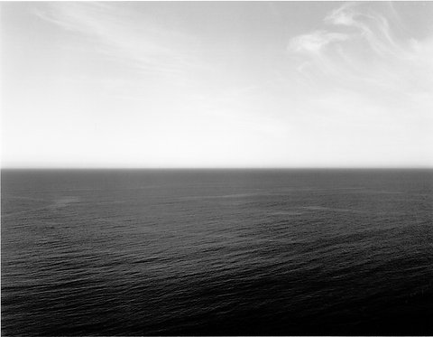 杉本博司 / Time Exposed TASMAN SEA NGARUPUPU 1990