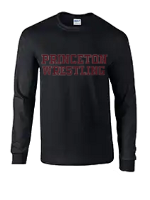 Long Sleeve 50-50 Ring Spun Lettering