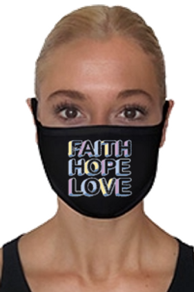 Faith, Hope, Love Mask