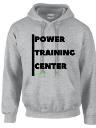 Power Training Center Bar Hoodie