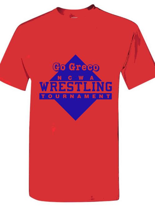 NCWA Go Greco  Blended T-Shirt