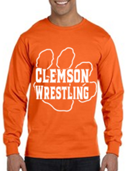 Clemson 50-50 Blend Long Sleeve