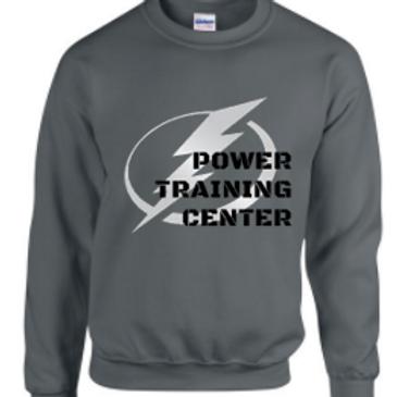 Power Training Center Bolt Crew Sweatshirt