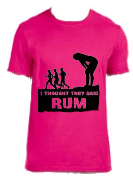 Thought They Said Rum Shirt