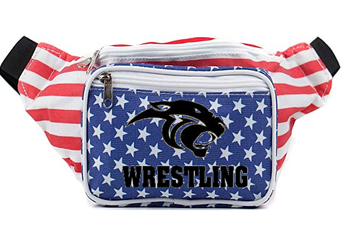 Plano East American Flag Fanny Pack