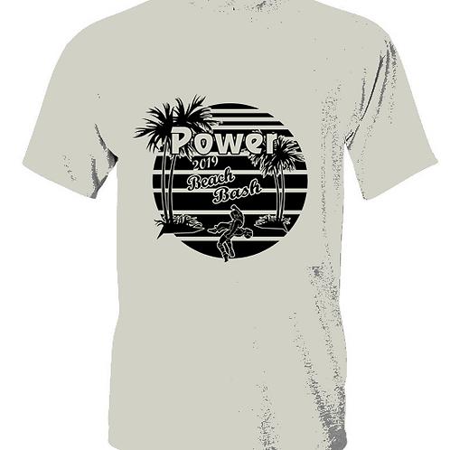 2019 Power Beach Bash Cotton Blend Top