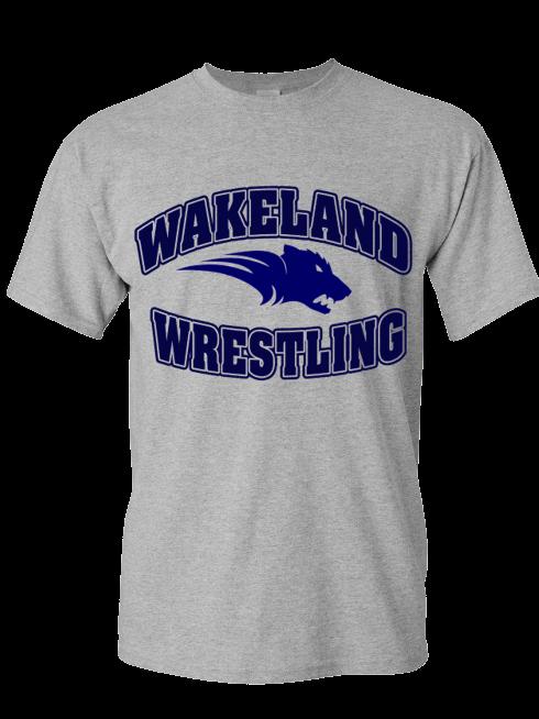 Wakeland Ring Spun  Blended Work out T-Shirt