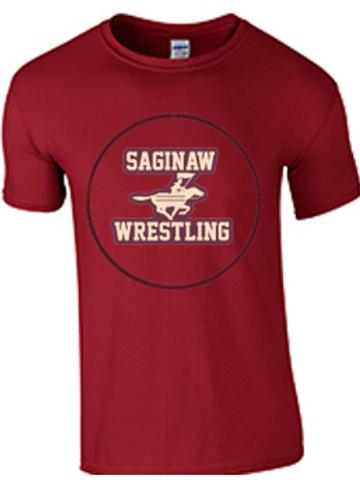 Saginaw Wrestling Ring Spun Short Sleeve