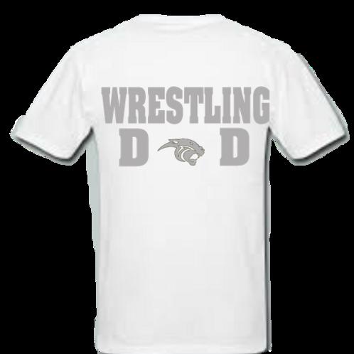 Wrestling Dad Ring Spun Cotton
