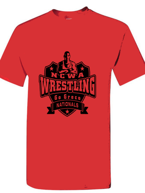 NCWA Go Greco Shield Blended T-Shirt