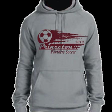 Premium Hooded Sweatshirt Soccer Ball Logo